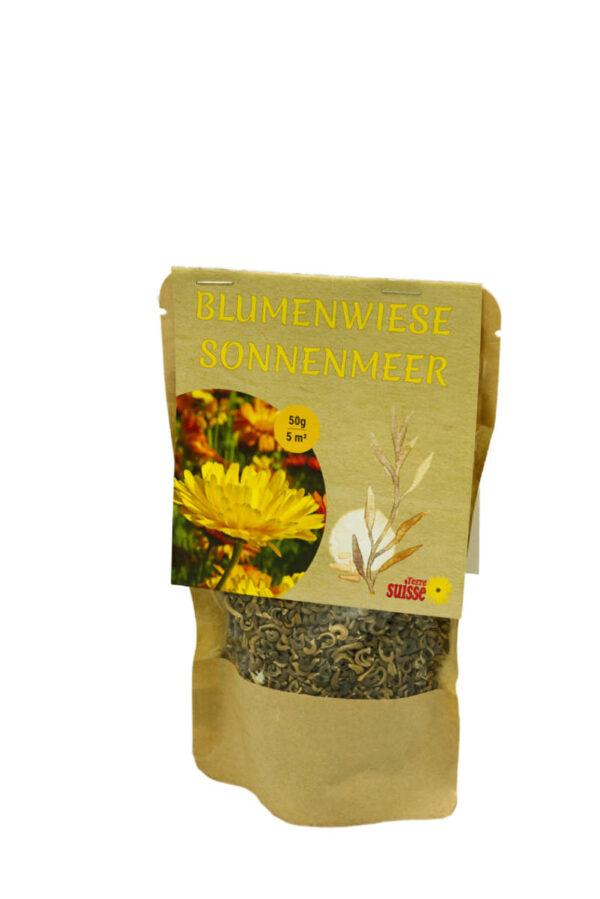 Blumenwiese Sonnenmeer